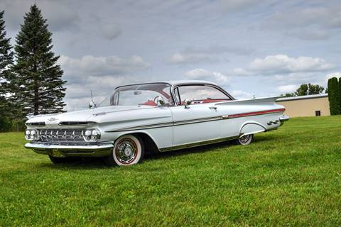 1959 Chevrolet Impala for sale at Hooked On Classics in Watertown MN