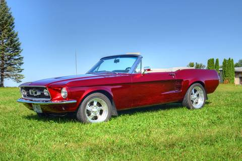 1967 Ford Mustang for sale at Hooked On Classics in Watertown MN