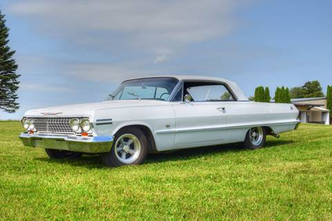 1963 Chevrolet Impala for sale at Hooked On Classics in Watertown MN
