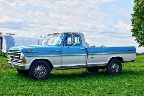 1971 Ford F-250 for sale at Hooked On Classics in Watertown MN