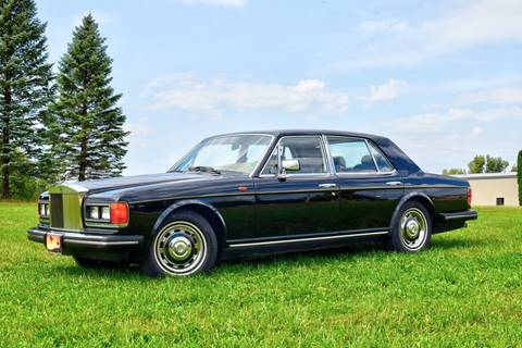 1982 Rolls-Royce Siver Spirit for sale at Hooked On Classics in Watertown MN