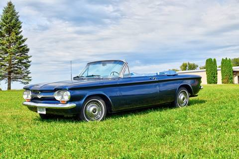 1964 Chevrolet Corvair for sale at Hooked On Classics in Watertown MN