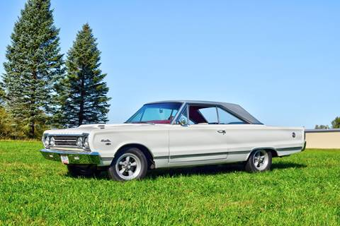 1967 Plymouth Satellite for sale at Hooked On Classics in Watertown MN