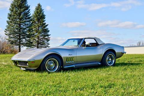 1969 Chevrolet Corvette for sale at Hooked On Classics in Watertown MN