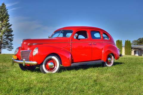 1939 Mercury Sedan for sale at Hooked On Classics in Watertown MN
