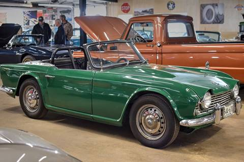 1962 Triumph TR4 for sale at Hooked On Classics in Watertown MN