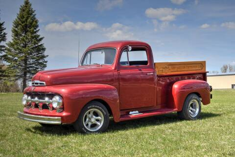 1951 Ford F-1 for sale at Hooked On Classics in Watertown MN