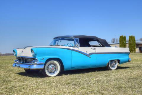 1956 Ford Sunliner for sale at Hooked On Classics in Watertown MN