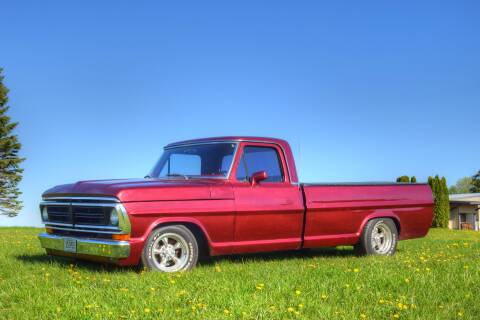 1972 Ford F-150 for sale at Hooked On Classics in Watertown MN
