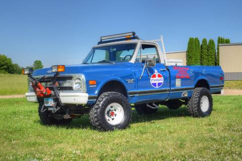 1969 Chevrolet Pickup 4X4 for sale at Hooked On Classics in Watertown MN