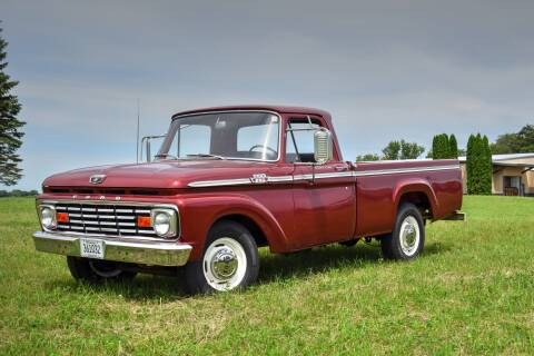 1963 Ford F-250 for sale at Hooked On Classics in Watertown MN