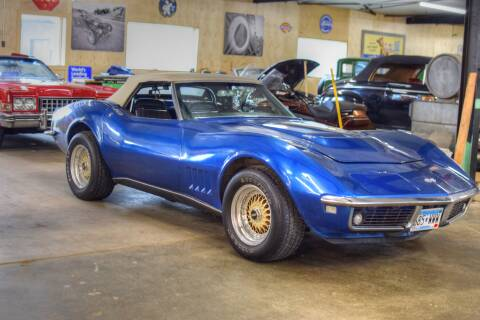 1968 Chevrolet Corvette for sale at Hooked On Classics in Watertown MN