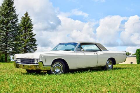 1966 Lincoln Continental for sale at Hooked On Classics in Watertown MN