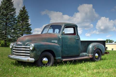 1949 Chevrolet 3100 5 Window for sale at Hooked On Classics in Watertown MN