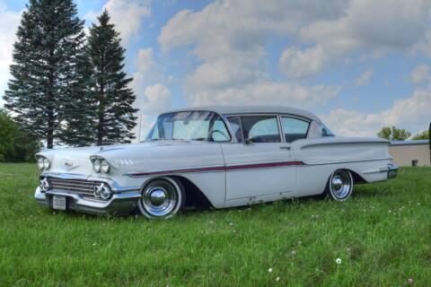 1958 Chevrolet Biscayne for sale at Hooked On Classics in Watertown MN