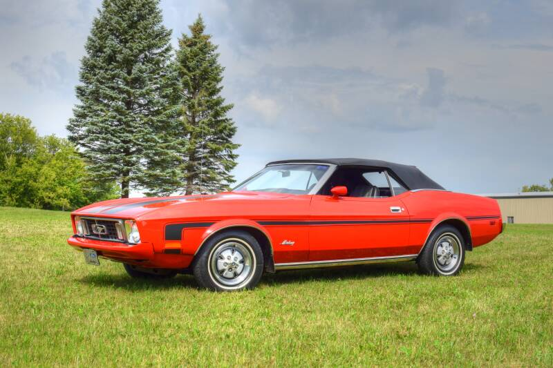 1973 Ford Mustang for sale at Hooked On Classics in Watertown MN
