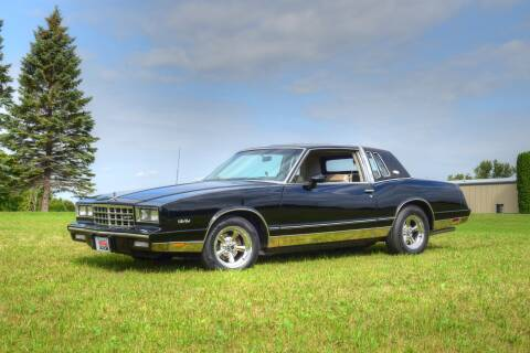 1983 Chevrolet Monte Carlo for sale at Hooked On Classics in Watertown MN