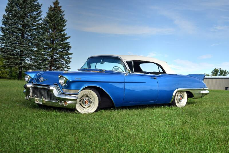 1957 Cadillac Eldorado Biarritz for sale at Hooked On Classics in Watertown MN