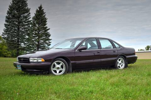 1995 Chevrolet Impala for sale at Hooked On Classics in Watertown MN