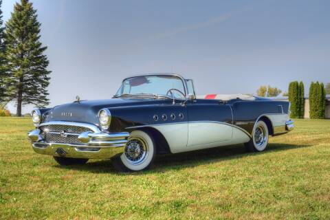 1955 Buick Roadmaster for sale at Hooked On Classics in Watertown MN