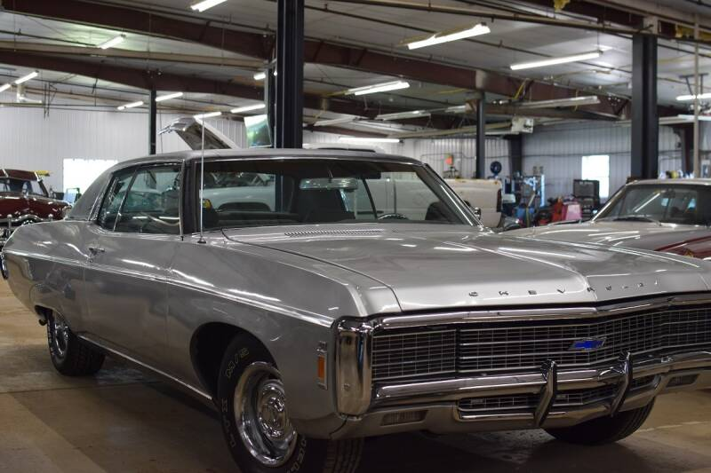 1969 Chevrolet Caprice for sale at Hooked On Classics in Watertown MN