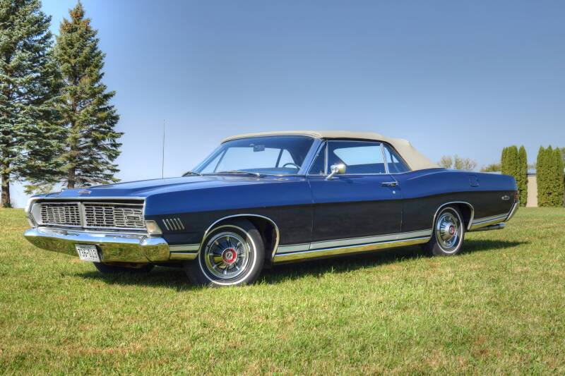 1968 Ford Galaxie 500 for sale at Hooked On Classics in Watertown MN