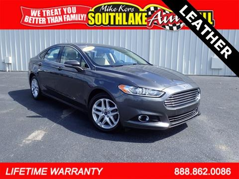 2015 Ford Fusion for sale in Merillville IN