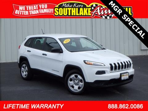 2014 Jeep Cherokee for sale in Merillville, IN