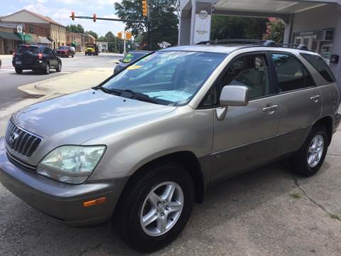 2002 Lexus RX 300 for sale at ROBINSON AUTO BROKERS in Dallas NC