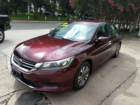 2013 Honda Accord for sale at ROBINSON AUTO BROKERS in Dallas NC
