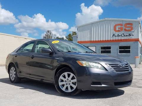 2007 Toyota Camry Hybrid for sale at G S Auto Center in Orlando FL
