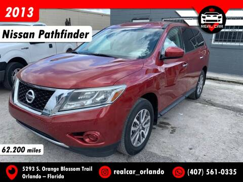 2013 Nissan Pathfinder for sale at Real Car Sales in Orlando FL
