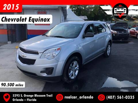 2015 Chevrolet Equinox for sale at Real Car Sales in Orlando FL