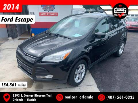 2014 Ford Escape for sale at Real Car Sales in Orlando FL