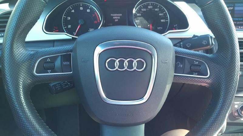 2012 Audi A5 AWD 2.0T quattro Premium Plus 2dr Convertible - Daytona Beach FL