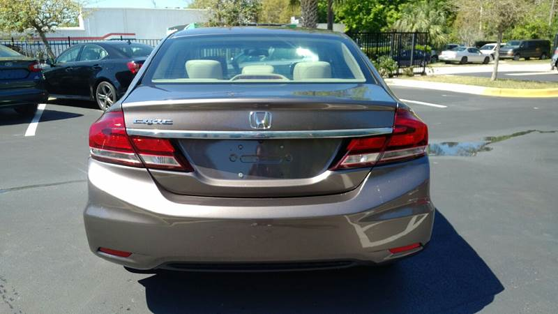 2013 Honda Civic EX 4dr Sedan - Daytona Beach FL