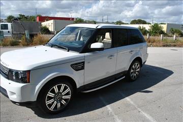 2012 Land Rover Range Rover Sport for sale in Delray Beach, FL