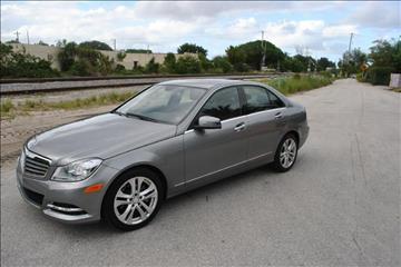 2014 Mercedes-Benz C-Class for sale in Delray Beach, FL