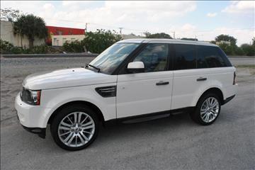 2010 Land Rover Range Rover Sport for sale in Delray Beach, FL