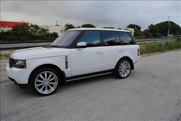 2012 Land Rover Range Rover for sale in Delray Beach, FL