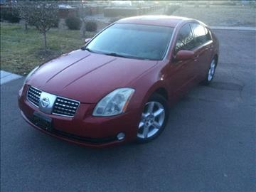 2006 Nissan Maxima for sale at Rods Cars Inc. in Denver CO