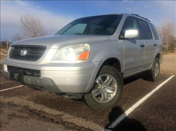 2004 Honda Pilot for sale at Rods Cars Inc. in Denver CO