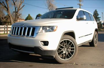 2012 Jeep Grand Cherokee for sale at Rods Cars Inc. in Denver CO