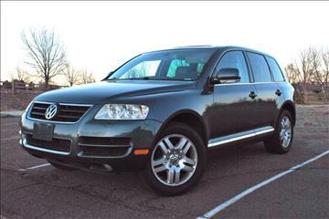 2004 Volkswagen Touareg for sale at Rods Cars Inc. in Denver CO