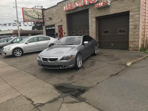 2004 BMW 6 Series for sale in Cranston, RI