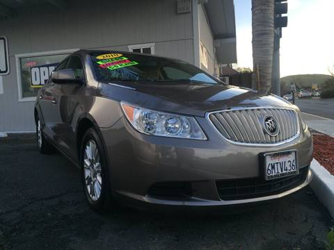 2010 Buick LaCrosse for sale in Pittsburg, CA