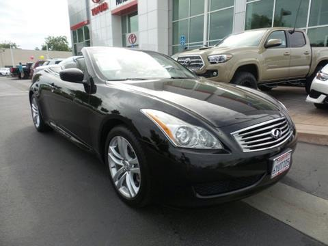 2010 Infiniti G37 Convertible for sale in Chico, CA