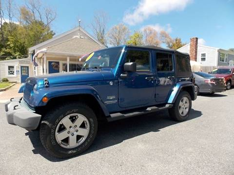 2010 Jeep Wrangler Unlimited for sale in West Wareham, MA