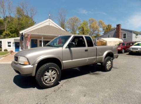 2002 GMC Sonoma for sale in West Wareham, MA