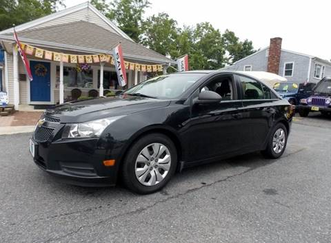 2012 Chevrolet Cruze for sale in West Wareham, MA